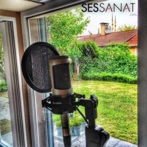 sessanat stüdyosu mikrofon