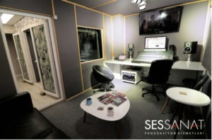 ses tasarım, kayıt ve seslendirme stüdyosu